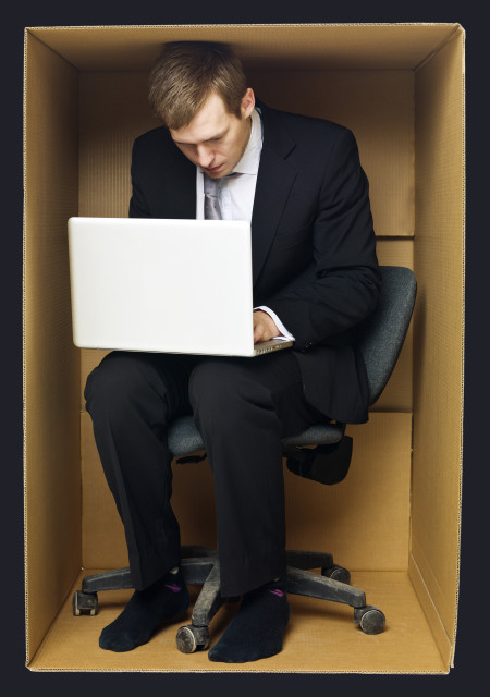 business-professional-working-inside-the-box