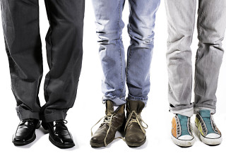 people-in-a-variety-of-shoes