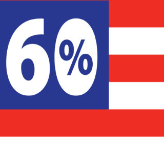60 percent of americans